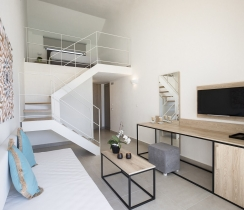 Loft Suites - Living Room with Smart TV